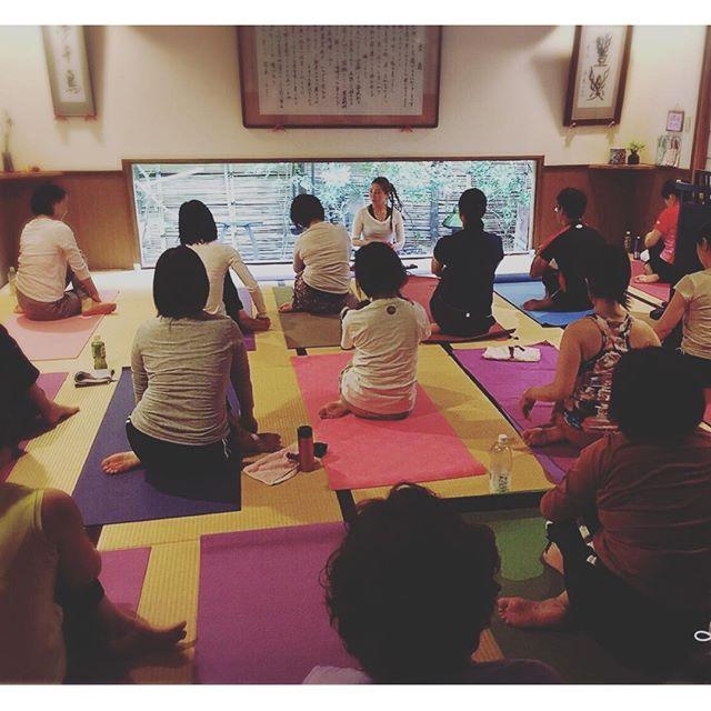 本日は、『和yoga』In 熊の川温泉 夢千鳥。・素敵なところでしたご参加いただきましてありがとうございました