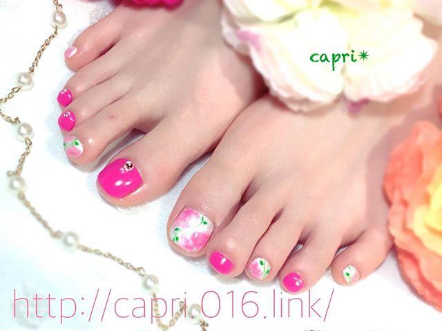 好感度up!春nail・誰もが可愛いと見惚れるピンクです・人に見せたくなるnailデザインお任せください(*^o^*)http://capri.016.link/#唐津ネイル#capri#肌に合わせたピンクを選ぶ!